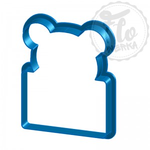 Bear with envelope Cookie Cutter