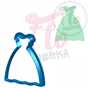 Dress II Cookie Cutter