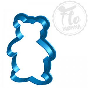 Teddy bear toy Cookie Cutter