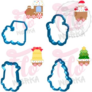 Christmas Train SET Cookie Cutter