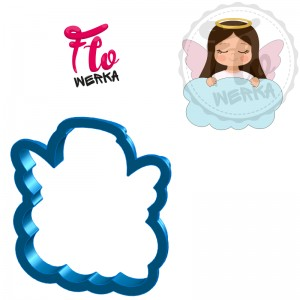 Angel on a cloud Cookie Cutter