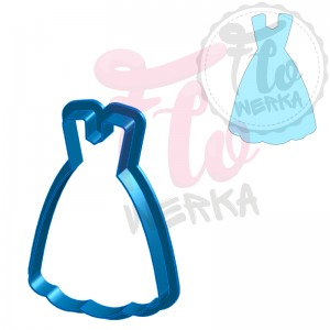 Dress III Cookie Cutter