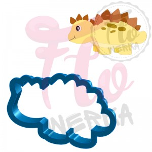 Dinosaur IV Cookie Cutter